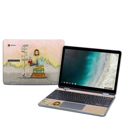 The Jet Setter Samsung Chromebook Plus 2019 Skin