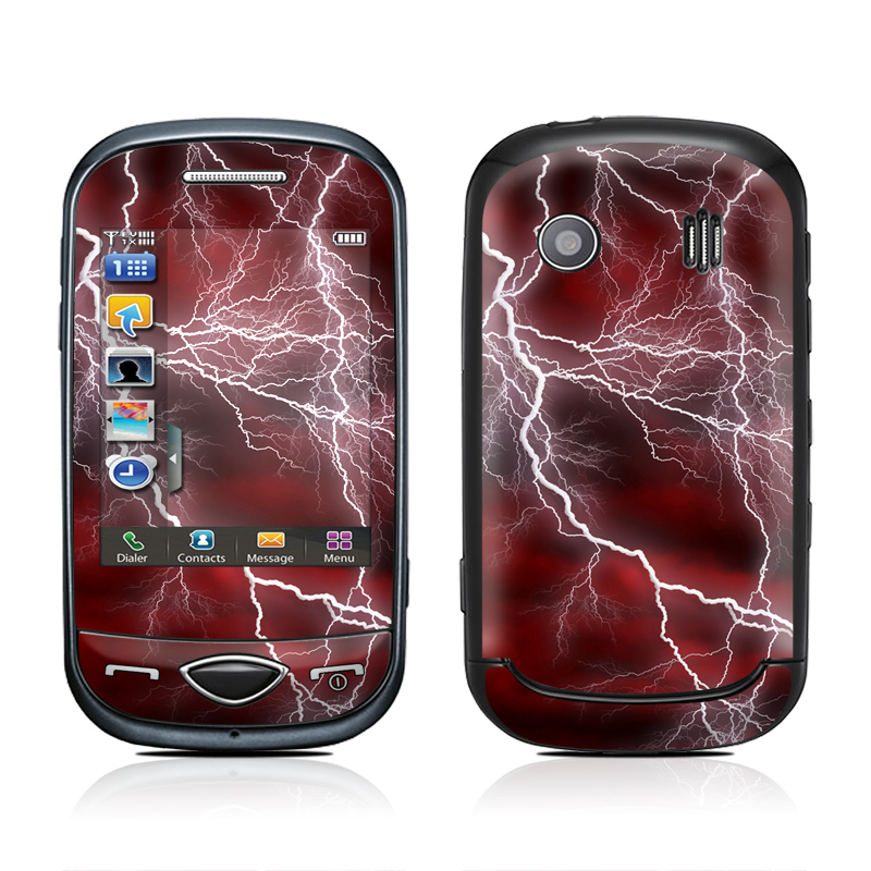 Apocalypse Red Samsung Corby Plus Skin