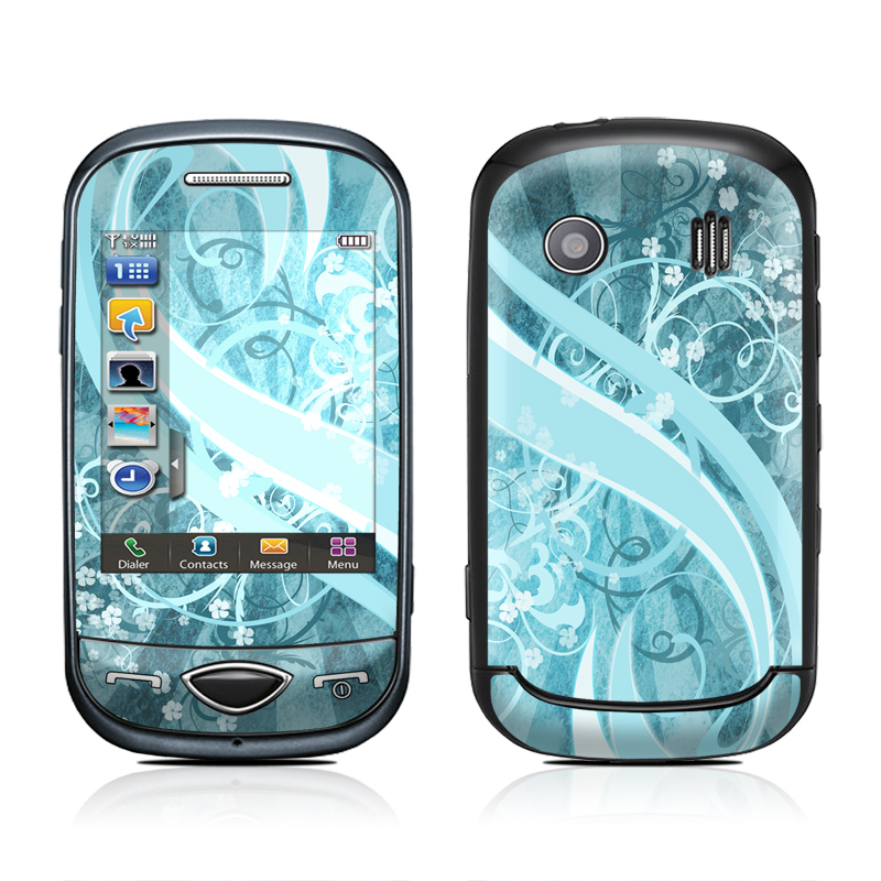 Flores Agua Samsung Corby Plus Skin