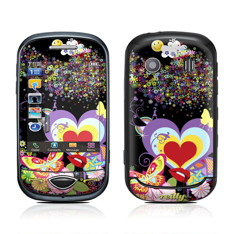 Flower Cloud Samsung Corby Plus Skin