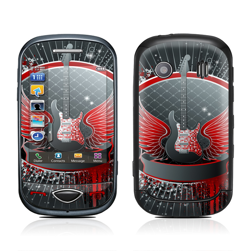 Rock Out Samsung Corby Plus Skin