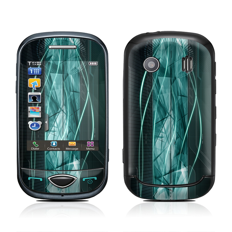 Shattered Samsung Corby Plus Skin