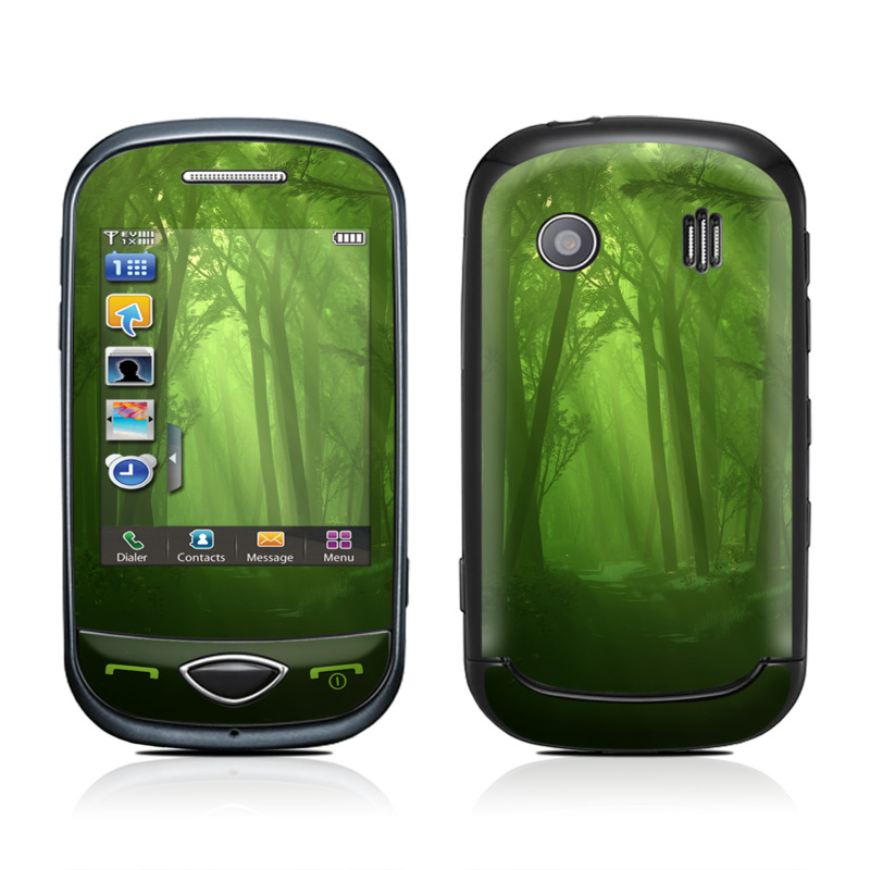 Spring Wood Samsung Corby Plus Skin