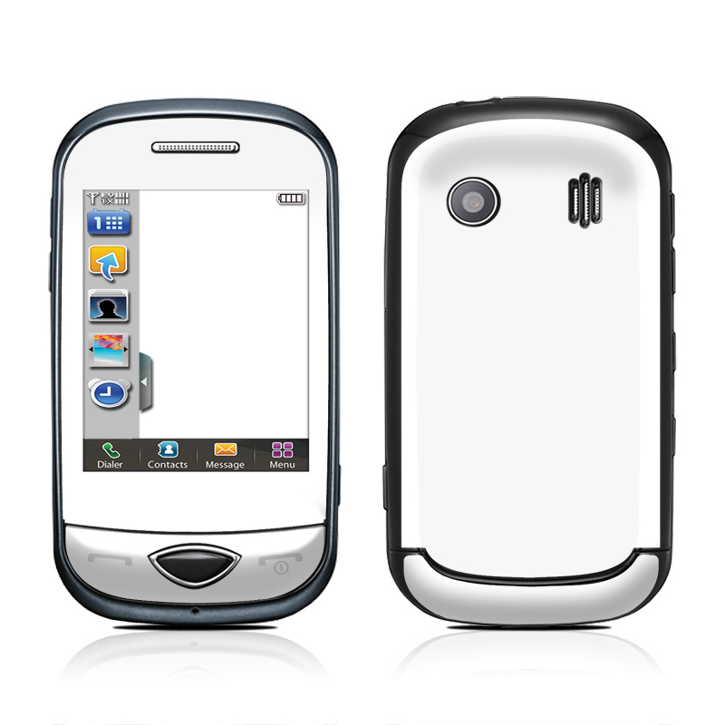 Solid State White Samsung Corby Plus Skin