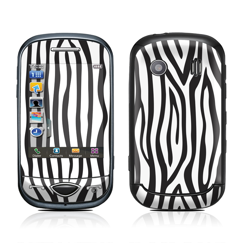 Zebra Stripes Samsung Corby Plus Skin