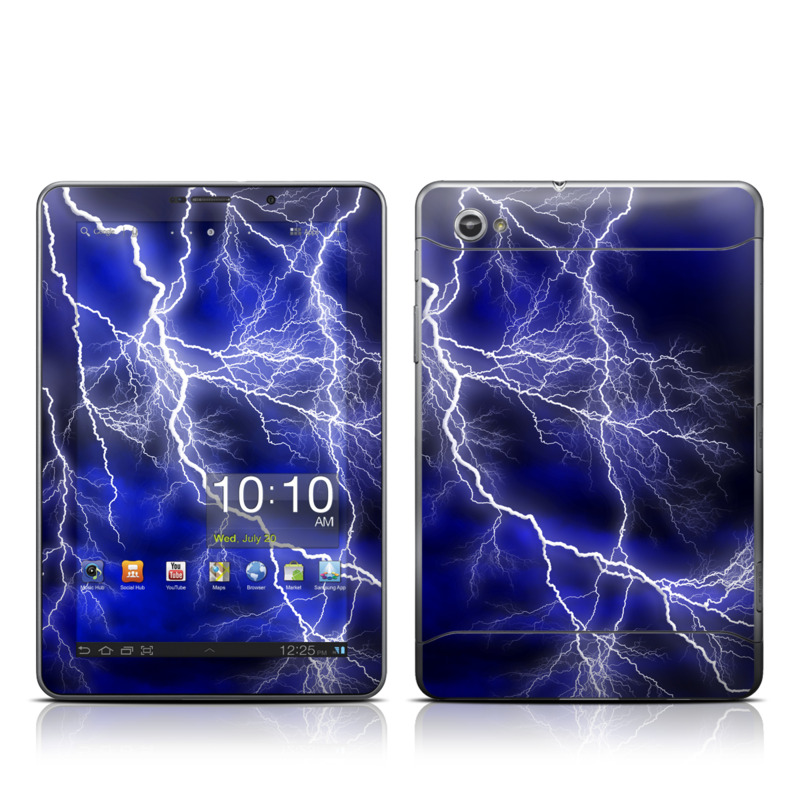 Apocalypse Blue Galaxy Tab 7.7 Skin