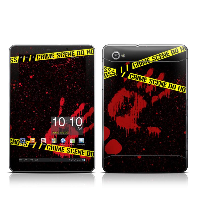 Crime Scene Galaxy Tab 7.7 Skin