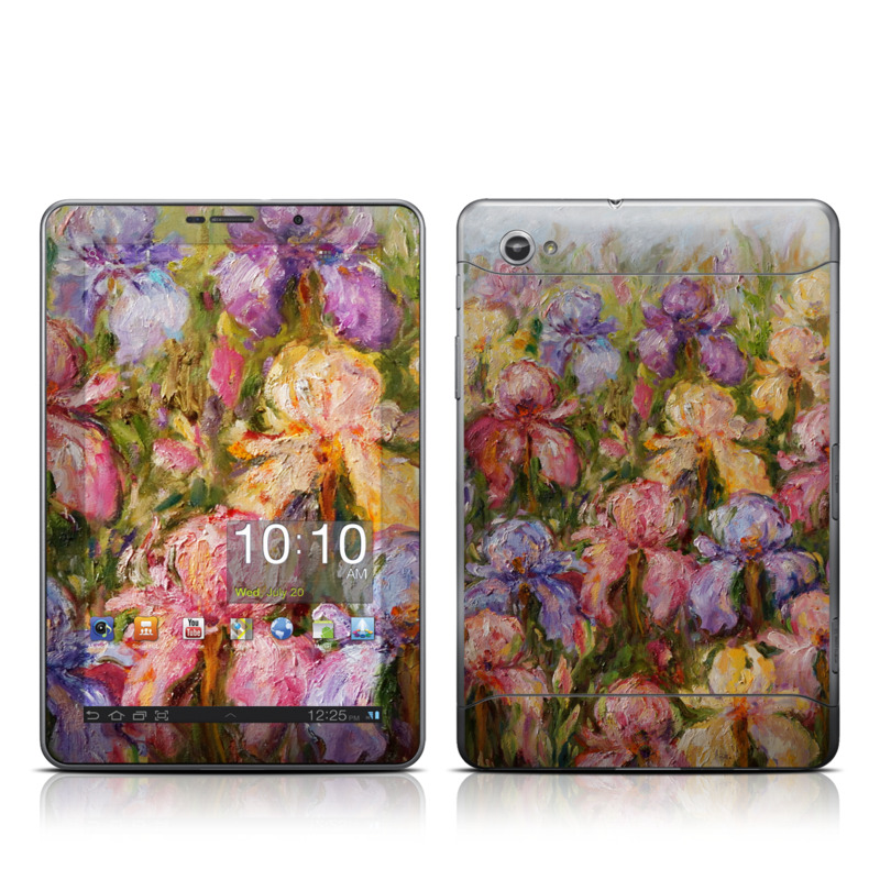 Field Of Irises Galaxy Tab 7.7 Skin