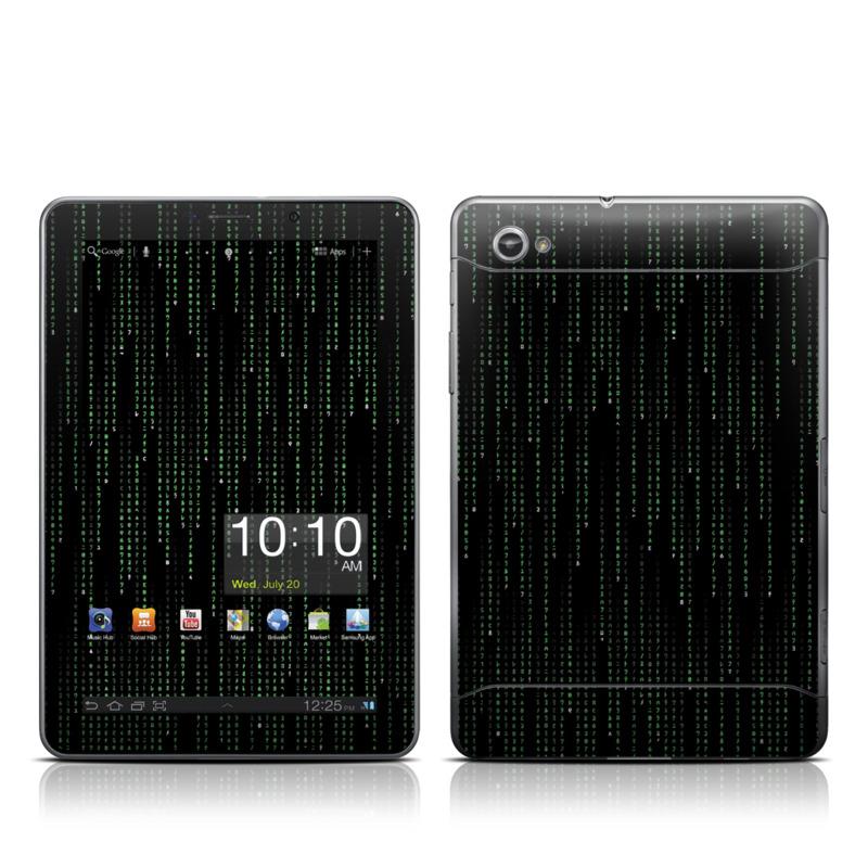 Matrix Style Code Galaxy Tab 7.7 Skin