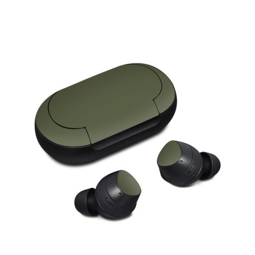 Solid State Olive Drab Samsung Galaxy Buds Skin