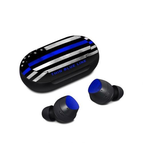 Thin Blue Line Samsung Galaxy Buds Skin