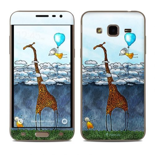 Above The Clouds Samsung Galaxy J3 Skin