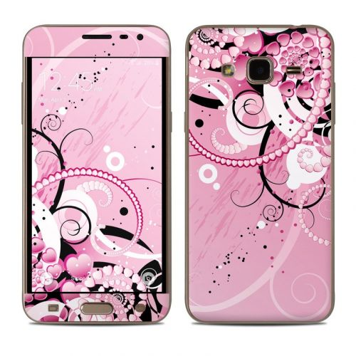 Her Abstraction Samsung Galaxy J3 Skin