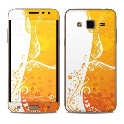 Orange Crush Samsung Galaxy J3 Skin