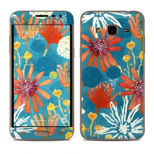 Sunbaked Blooms Samsung Galaxy J3 Skin