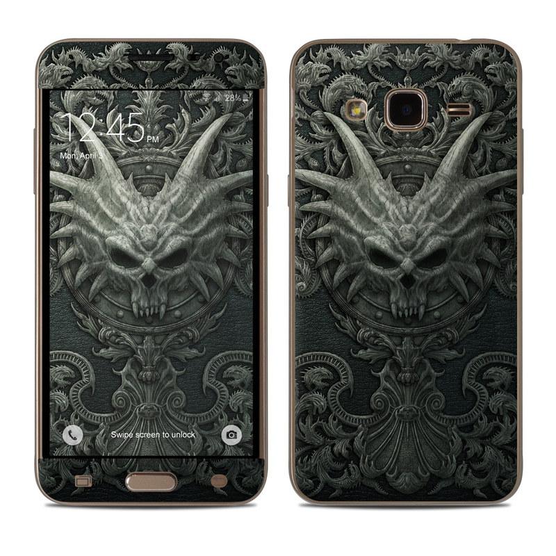 Black Book Samsung Galaxy J3 Skin