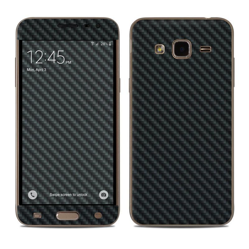 Carbon Samsung Galaxy J3 Skin