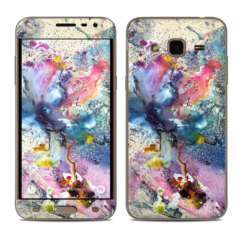 Cosmic Flower Samsung Galaxy J3 Skin