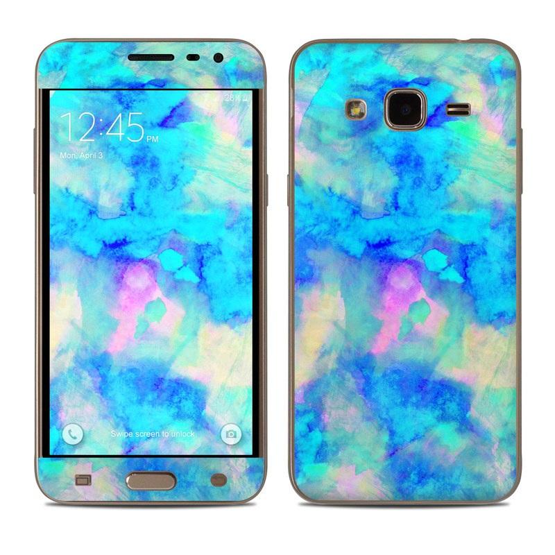 Electrify Ice Blue Samsung Galaxy J3 Skin