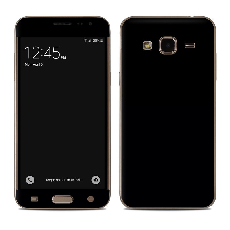 Samsung Galaxy J3 Skin design of Black, Darkness, White, Sky, Light, Red, Text, Brown, Font, Atmosphere with black colors
