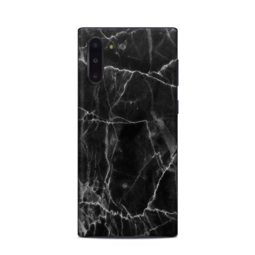 Black Marble Samsung Galaxy Note 10 Skin
