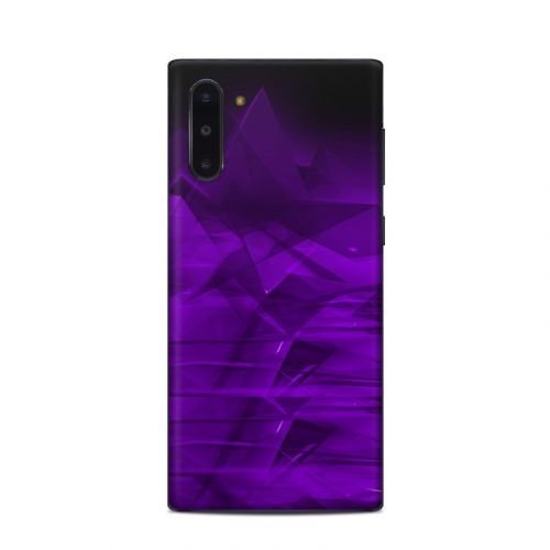 Dark Amethyst Crystal Samsung Galaxy Note 10 Skin