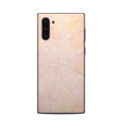 Rose Gold Marble Samsung Galaxy Note 10 Skin