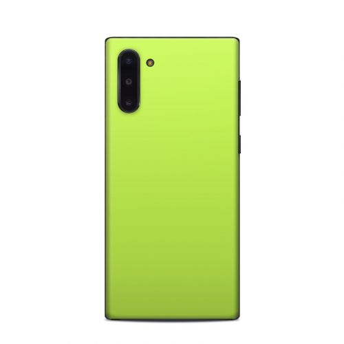 Solid State Lime Samsung Galaxy Note 10 Skin