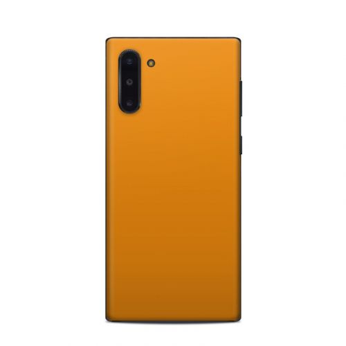 Solid State Orange Samsung Galaxy Note 10 Skin