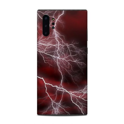 Apocalypse Red Samsung Galaxy Note 10 Plus Skin