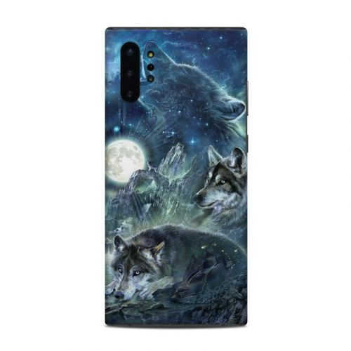 Bark At The Moon Samsung Galaxy Note 10 Plus Skin