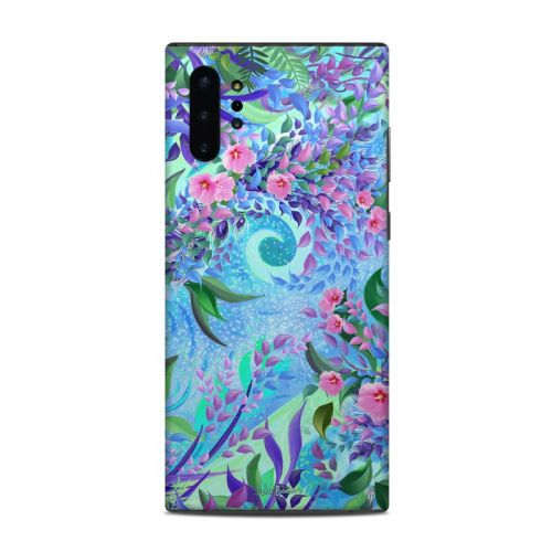 Lavender Flowers Samsung Galaxy Note 10 Plus Skin