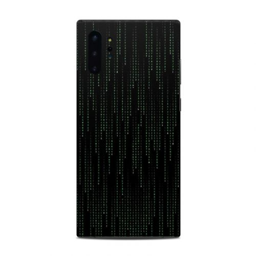 Matrix Style Code Samsung Galaxy Note 10 Plus Skin
