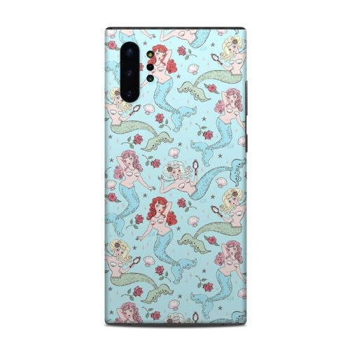 Mermaids and Roses Samsung Galaxy Note 10 Plus Skin