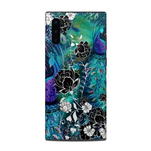 Peacock Garden Samsung Galaxy Note 10 Plus Skin