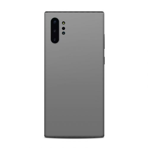 Solid State Grey Samsung Galaxy Note 10 Plus Skin