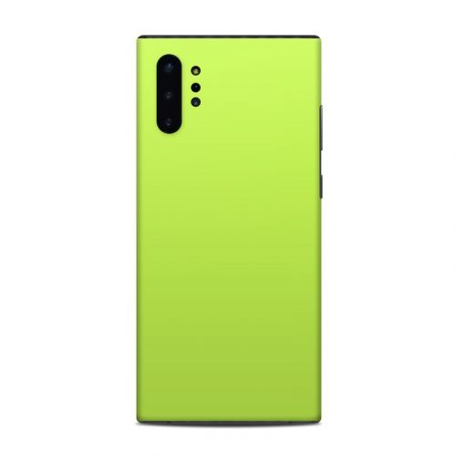 Solid State Lime Samsung Galaxy Note 10 Plus Skin
