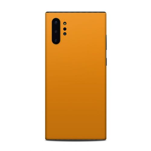 Solid State Orange Samsung Galaxy Note 10 Plus Skin
