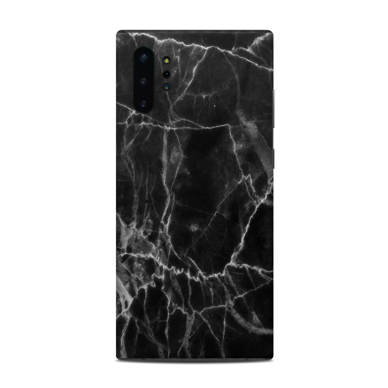 Samsung Galaxy Note 10 Plus Skin design of Black, White, Nature, Black-and-white, Monochrome photography, Branch, Atmosphere, Atmospheric phenomenon, Tree, Sky with black, white colors