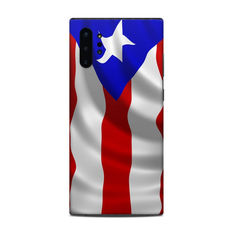 Samsung Galaxy Note 10 Plus Skin design of Flag, Flag of the united states, Flag Day (USA), Veterans day, Independence day with red, blue, white colors