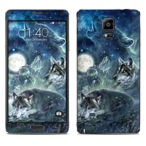 Bark At The Moon Galaxy Note 4 Skin