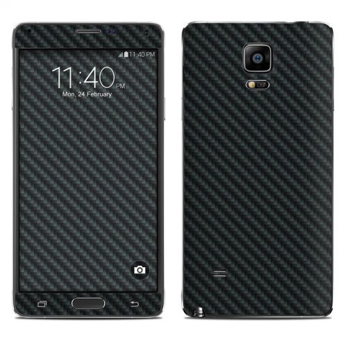 Carbon Fiber Galaxy Note 4 Skin