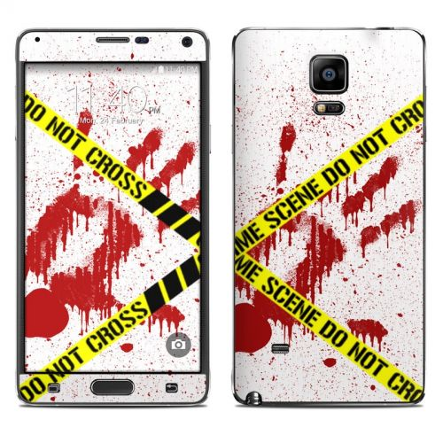Crime Scene Revisited Galaxy Note 4 Skin