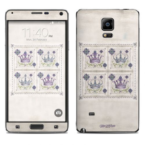 Purple Crown Galaxy Note 4 Skin