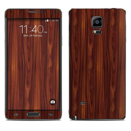 Dark Rosewood Galaxy Note 4 Skin