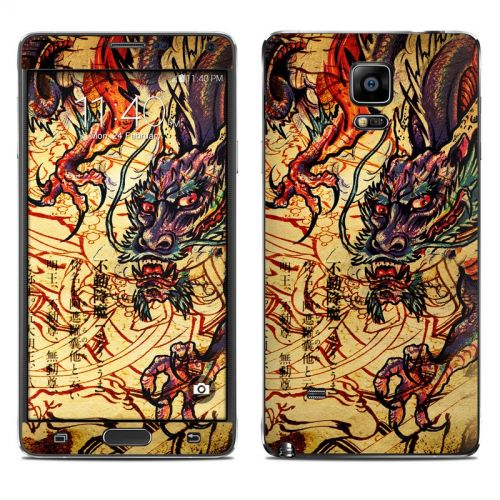 Dragon Legend Galaxy Note 4 Skin