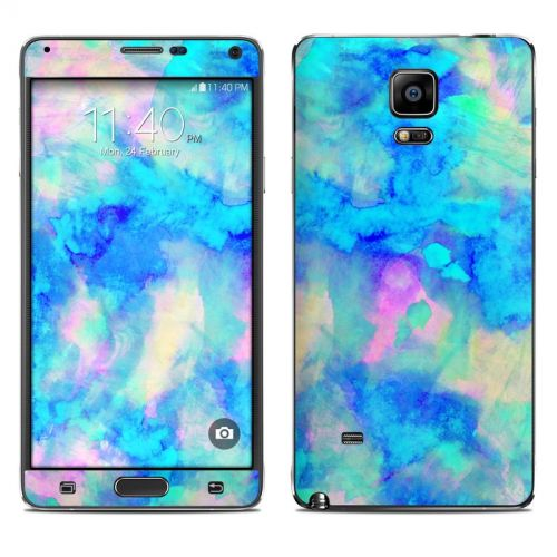 Electrify Ice Blue Galaxy Note 4 Skin
