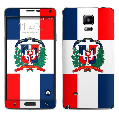 Dominican Republic Flag Galaxy Note 4 Skin
