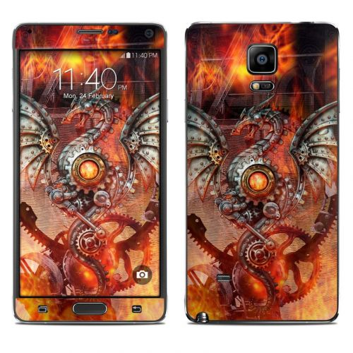 Furnace Dragon Galaxy Note 4 Skin
