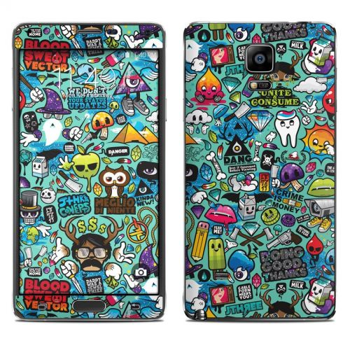 Jewel Thief Galaxy Note 4 Skin